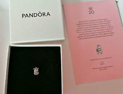 Limited Edition Genuine Pandora 2020 Bee Charm with Certificate, Box, and Bag