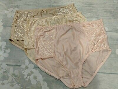 5 BALI 10//3XL LIGHT TUMMY CONTROL DOUBLE SUPPORT COTTON STRETCH BRIEF PANTIES