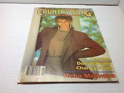 Vintage Country Song Roundup Magazine May 1991 Reba Don Williams Canyon & More