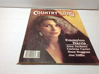 Vintage Country Song Roundup Magazine June 1991 Emmylou Harris Alan Jackson