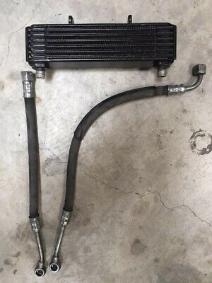 Bmw R90S Airhead Engine Oil Cooler With Lines Vgc