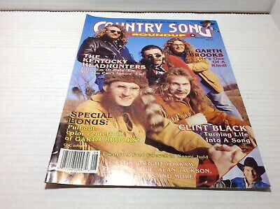Vintage Country Song Roundup Magazine Aug 1991 Kentucky Headhunters & More
