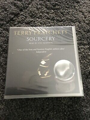 Terry Pratchett Sourcery CD Book Read By Tony Robinson New