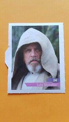 Carte Vignette Star Wars Leclerc 2019 24 Luke Skywalker
