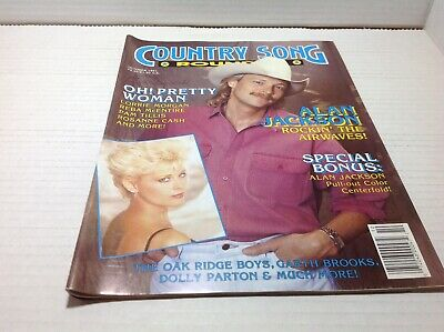Vintage Country Song Roundup Magazine Oct 1991 Alan Jackson Lorrie Morgan & More