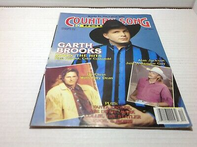 Vintage Country Song Roundup Magazine Dec 1991 Garth Brooks Alan Jackson & More