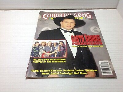 Vintage Country Song Roundup Magazine Apr 1992 Garth Brooks Sammy Keyshaw & More