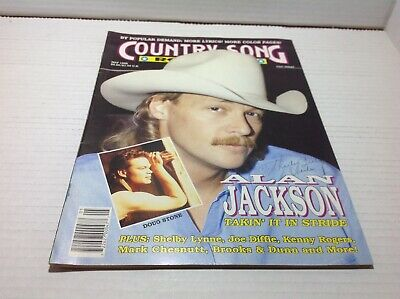 Vintage Country Song Roundup Magazine May 1992 Alan Jackson Doug Stone & More