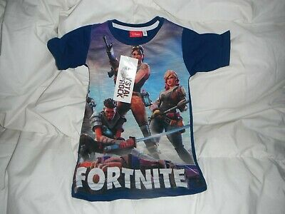 t shirt  92 cms  navy fortnite new with tags
