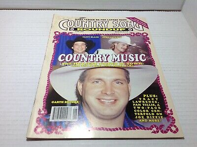 Vintage Country Song Roundup Magazine June 1992 Clint Black Alan Jackson & More