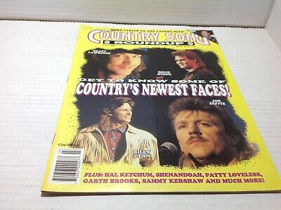 Vintage Country Song Roundup Magazine July 1992 Tracy Lawrence Joe Diffie & More
