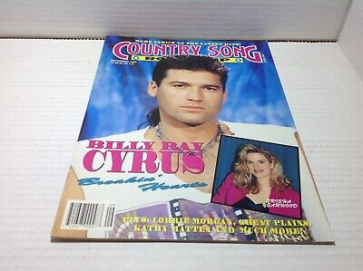 Vintage Country Song Roundup Magazine Sep 1992 Billy Ray Cyrus Trisha Yearwood