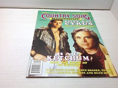 Vintage Country Song Roundup Magazine Dec 1992 Hal Ketchum Billy Ray Cyrus& More