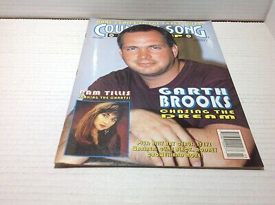 Vtg Country Song Roundup Magazine Mar 1993 Garth Brooks Pam Tillis & More