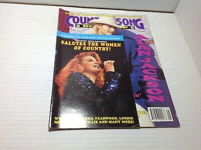Vtg Country Song Roundup Magazine May 1993  Alan Jackson Women of Country mini