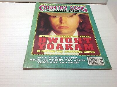 Vtg Country Song Roundup Magazine Jun 1993  Dwight Yoakam Michelle Wright & More
