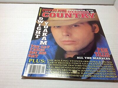 Vtg Country Song Roundup Magazine Jun 1996 Dwight Yoakam Pam Tillis & More