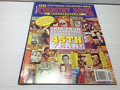 Vtg Country Song Roundup Magazine Feb 1994 45th Anniversary Collectors Issue