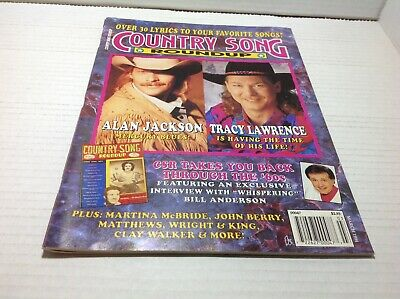 Country Song Roundup Magazine Mar 1994 Alan Jackson Tracy Lawrence & More
