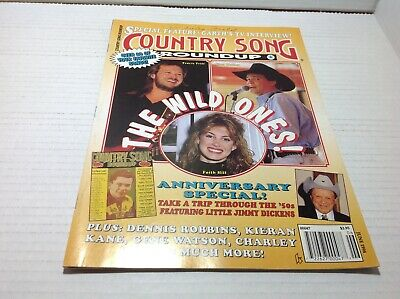 Country Song Roundup Magazine June 1994 Garths interview Faith Hill Clay Walker