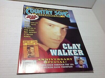 Country Song Roundup Magazine July 1994 Clay Walker Collin Raye & More
