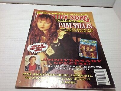 Country Song Roundup Magazine Aug 1994  Pam Tillis Rodney Crowell & More