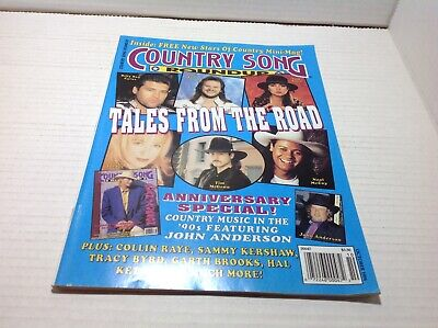 Country Song Roundup Magazine Oct 1994  Tales from the Road Anniversary Special