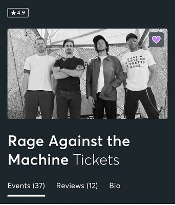 Rage Against The Machine, Monday 08/17/2020, MSG NYC, Bridge 312, BS 16/17, 8pm