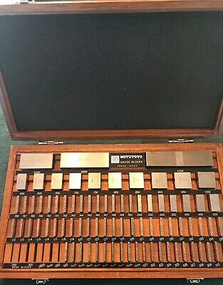 MITUTOYO/ P&W/STARRETT 80 PC. Mixed GAUGE BLOCK SET, Code #516-403