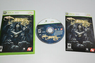 The Darkness (Microsoft Xbox 360, 2007) COMPLETE in BOX - Free Shipping -