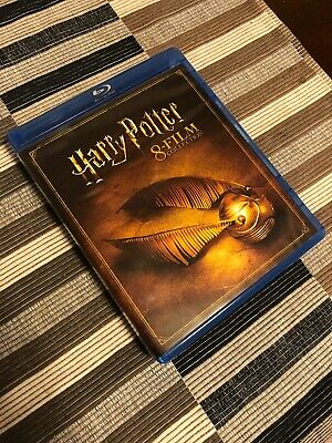 Harry Potter: Complete 8-Film Collection (Blu-ray Disc)