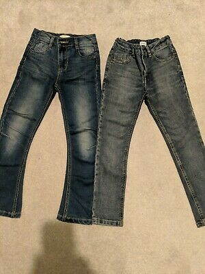 2 Pairs Of Boys Jeans Age 6-7