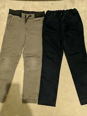 Boys Trousers x2 Size 8-9 (1 New)
