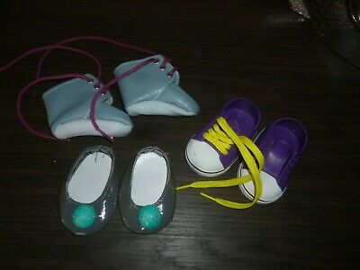 OUR GENERATION Doll ~ BUNDLE of 3 x PAIRS of SHOES Selection