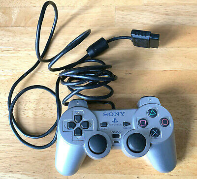 Sony Ps2 Controller Genuine Official Silver Dualchock 2 Playstation 2 Scph-10010