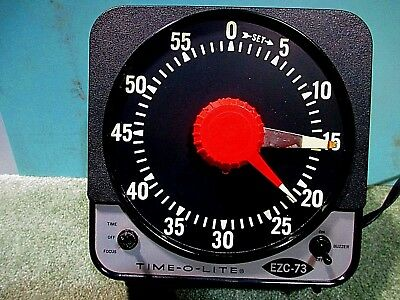 Vintage Time-o-Lite Industrial Photography Timer
