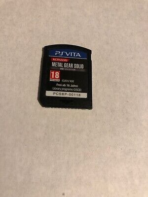 Metal Gear Solid HD Collection Sony PlayStation Ps Vita 2012 Cart Only