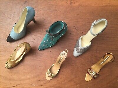 Small Collection Of Vintage Miniature Shoes