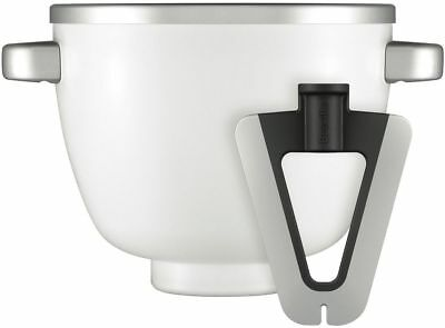 Breville BEM002WHT the Freeze & Mix™ Thermal Ice Cream Bowl with Scraper Paddle