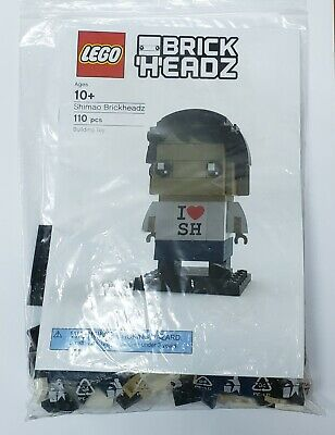 Lego Shanghai brickheadz 6270050 exclusive store grand opening LIMITED gift RARE