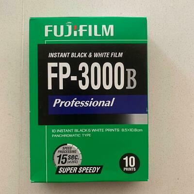 "FujiFilm 2602643 FP-3000B 3.34 x 4.25"" Professional Instant Black and White..."