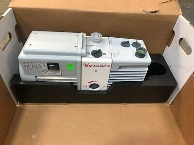 Edwards Vacuum Pump Rv8 New Boxed