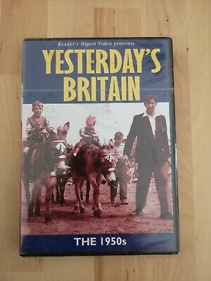 YESTERDAY'S BRITAIN THE 1950s DVD DOCUMENTARY READER'S DIGEST BNIW NEW