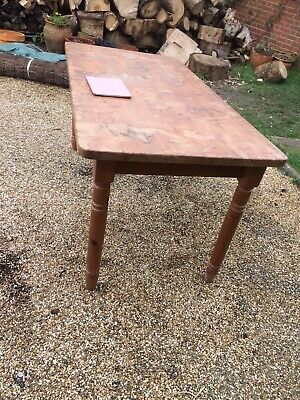 solid pine kitchen table Ideal Upcycle Painted