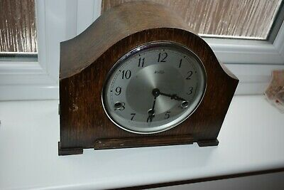 Vintage Bentima  Perivale Art Deco  Mantel Clock with Westminster chime