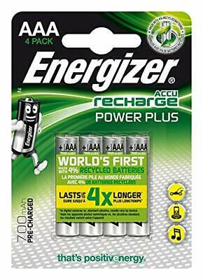 Energizer AAA Recharge Power Plus 700mAh (4 pack) pre-charged batteries