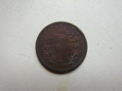 India   British  East India Company 1/2 pice 1853
