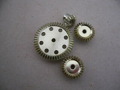 4 engrenages repro meccano
