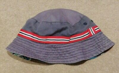 Boys Bucket Hat From Mothercare, Size 2-3 Years