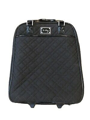 """Vera Bradley 20"""" Rolling Carry On Bag Luggage Suitcase"""